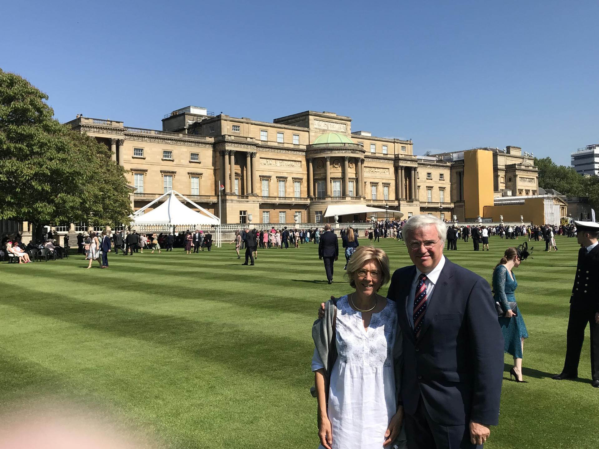 Garden Party Buckingham Palace