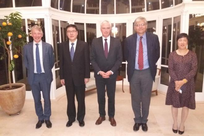 Chinese delegatie Zhejiang