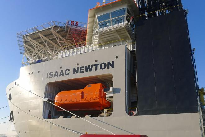 Baggerschip Isaac Newton