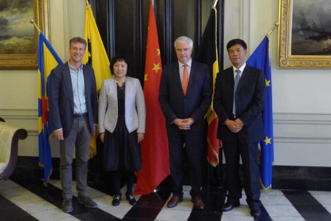 Ontvangst delegatie Jilin