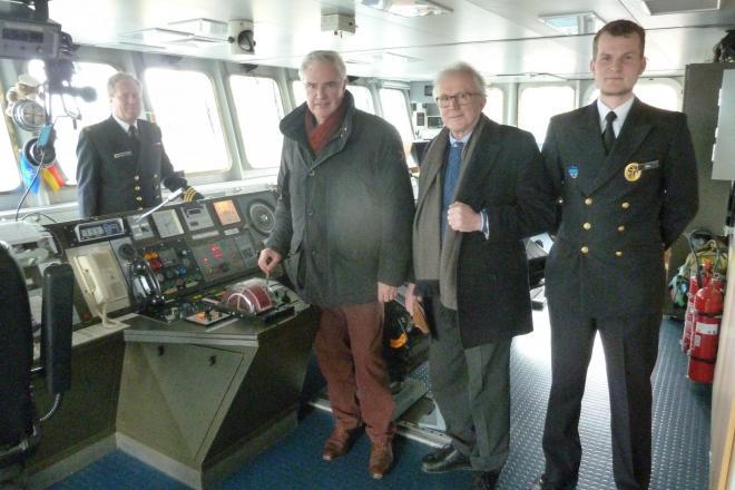 Bezoek schepen Zeebrugge