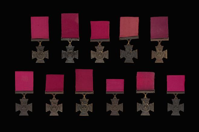 Victoria Crosses - met dank aan het Imperial War Museum ©IWM