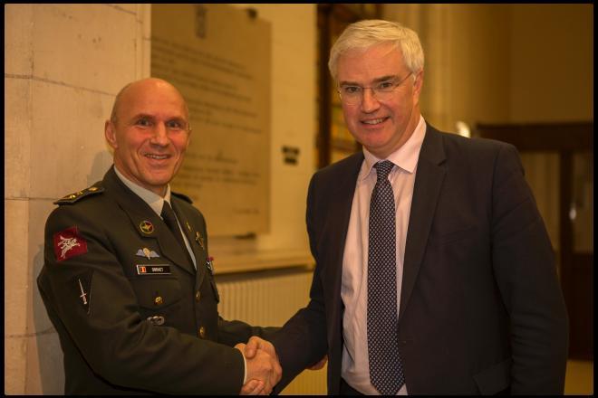 nieuwjaarsreceptie Militair Commando West-Vlaanderen