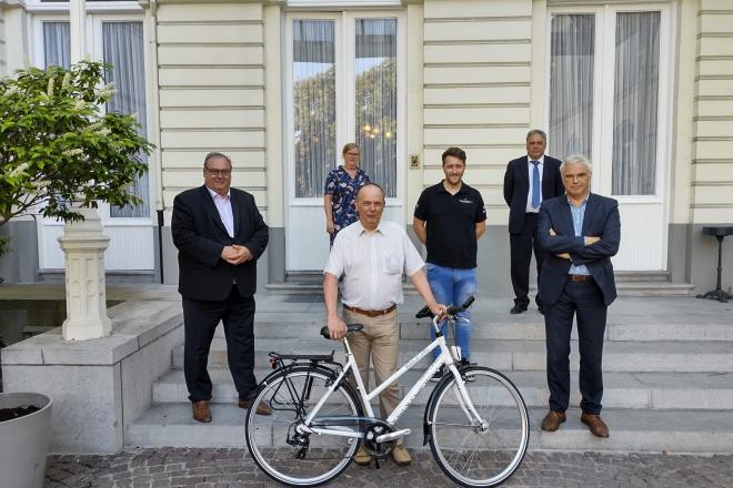 Prijsuitreiking digitale quiz fietstoerisme in harmonie
