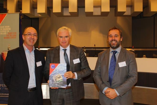 Lancering Compendium voor Kust en Zee in Vlaams Parlement