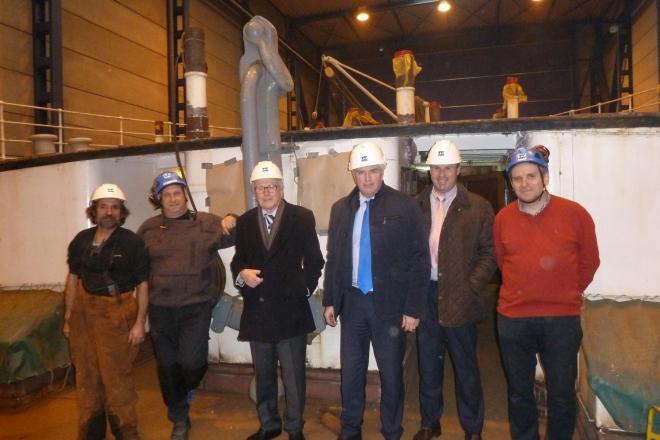 bezoek IdP scheepswerf Oostende, restauratie Mercator