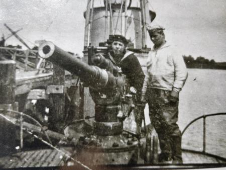 UB-II type 8,8 cm dekkanon U-boot Archiv Cuxhaven